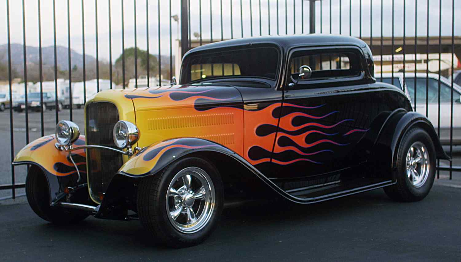 Classic Hot Rod Car Pictures