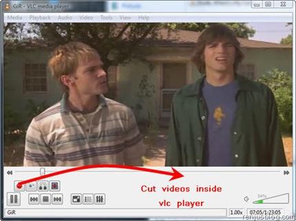 VLC as Video Cutter