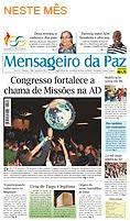 Leia o Jornal Mensageiro da paz