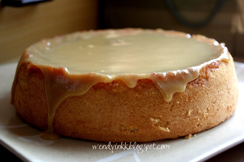Apple Sponge Cake Recipe Bbc