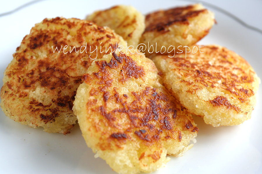 Pan Fried Tapioca Cake Recipe