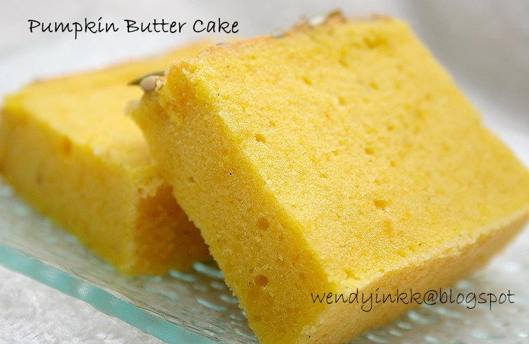 Table for 2.... or more: Pumpkin Velvety Butter Cake