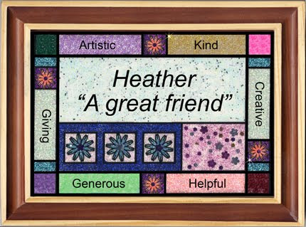Glitter Personalized Art
