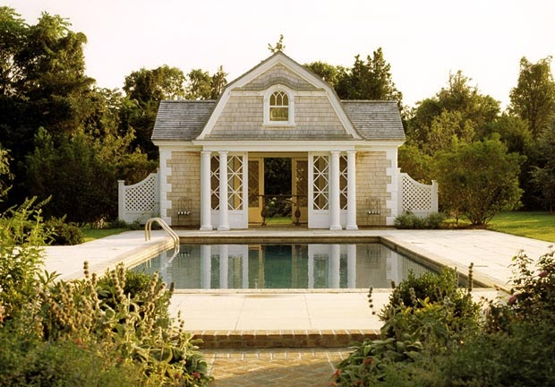 Long Island Style The Poolhouse in My Dreams