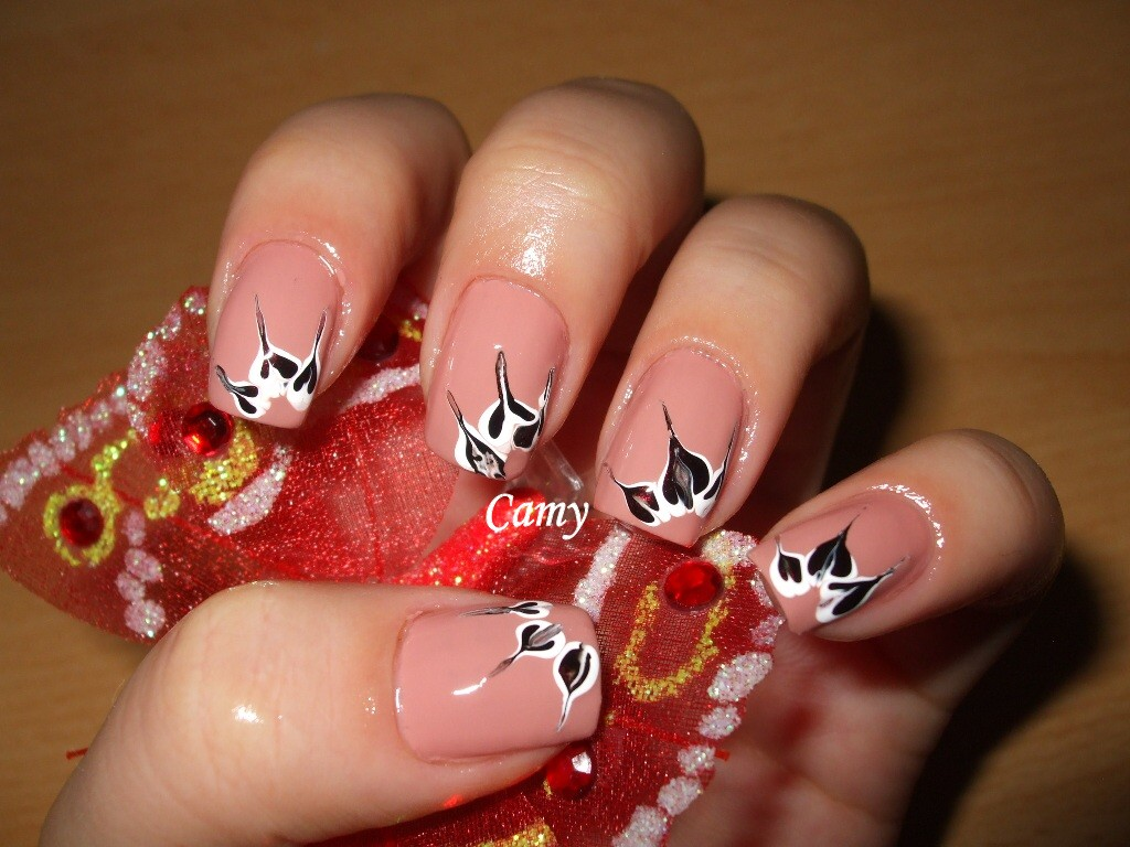 Outstanding Nail Art Flowers Toothpick Gallery - Nail Art Design ...