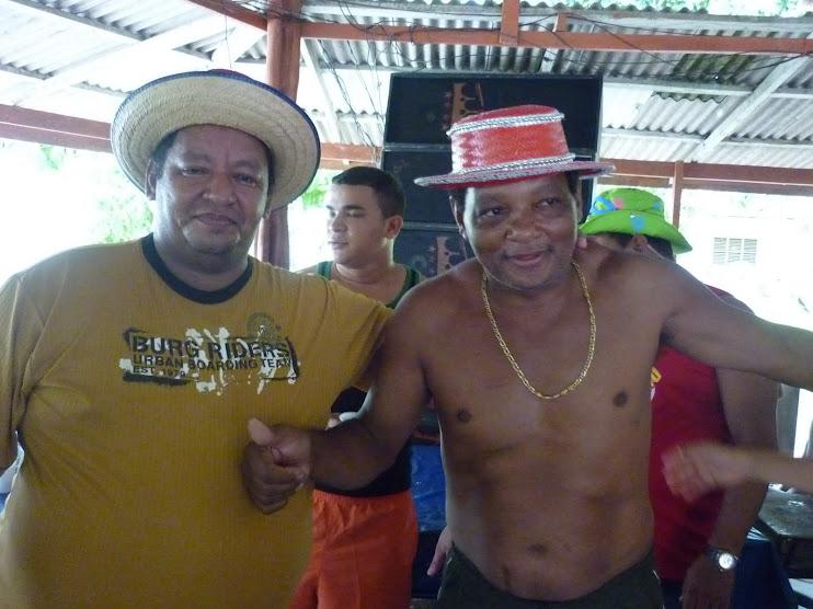 19/02/2010 - Fundadores do Bloco Carnavalesco Kunossauro da Comunidade do Curicaca (Itaubal/AP)