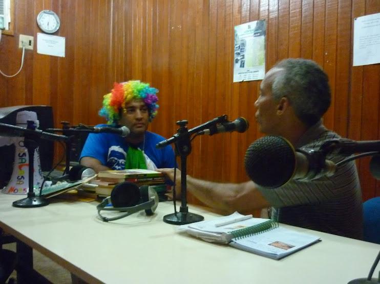 18/02/2010 - Estréia do Programa NossaCasa Amazônia na Rádio Comunitária Novo Tempo 105.9 Mhz FM