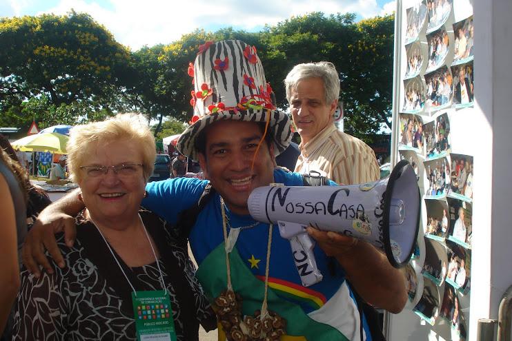 Rádio NossaCasa Amazônia entrevistando Dep. Luiza Erundina