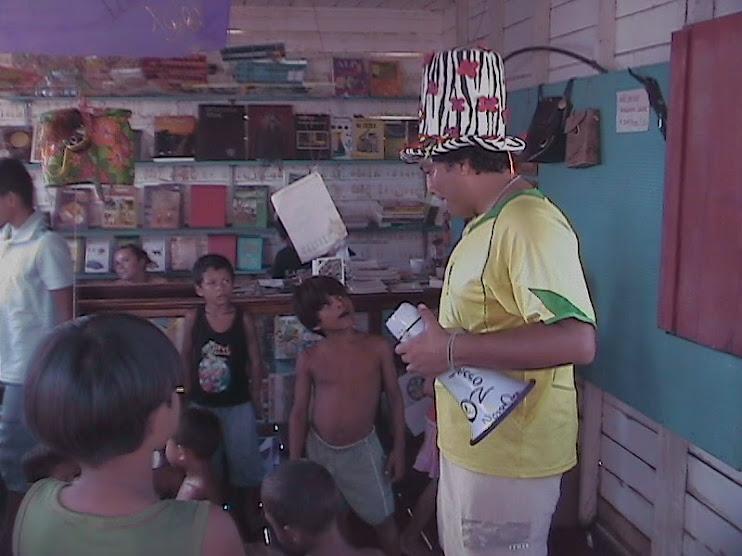 Rádio NossaCasa Amazônia incentivando leitura