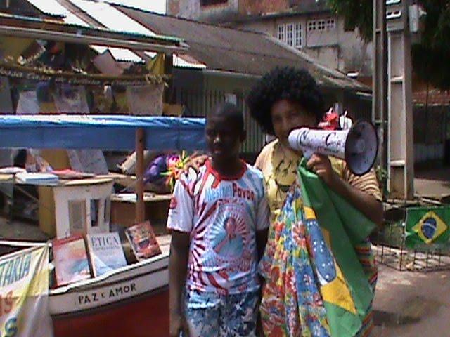 Rádio NossaCasa entrevista o jovem Iuri, mantenedor da cultura popular amazônica, o marabaixo.