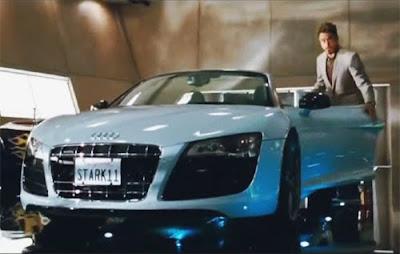 Video Iron Man Audi R V Spyder Commercial Quattroholiccom - Audi r8 commercial