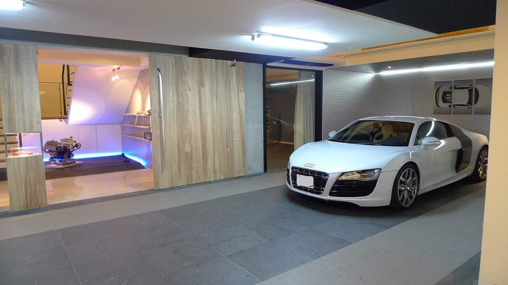 the coolest audi garage we 39 ve ever seen