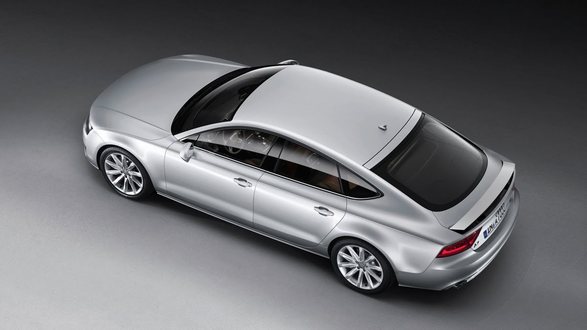 Audi A7 Sportback Officially