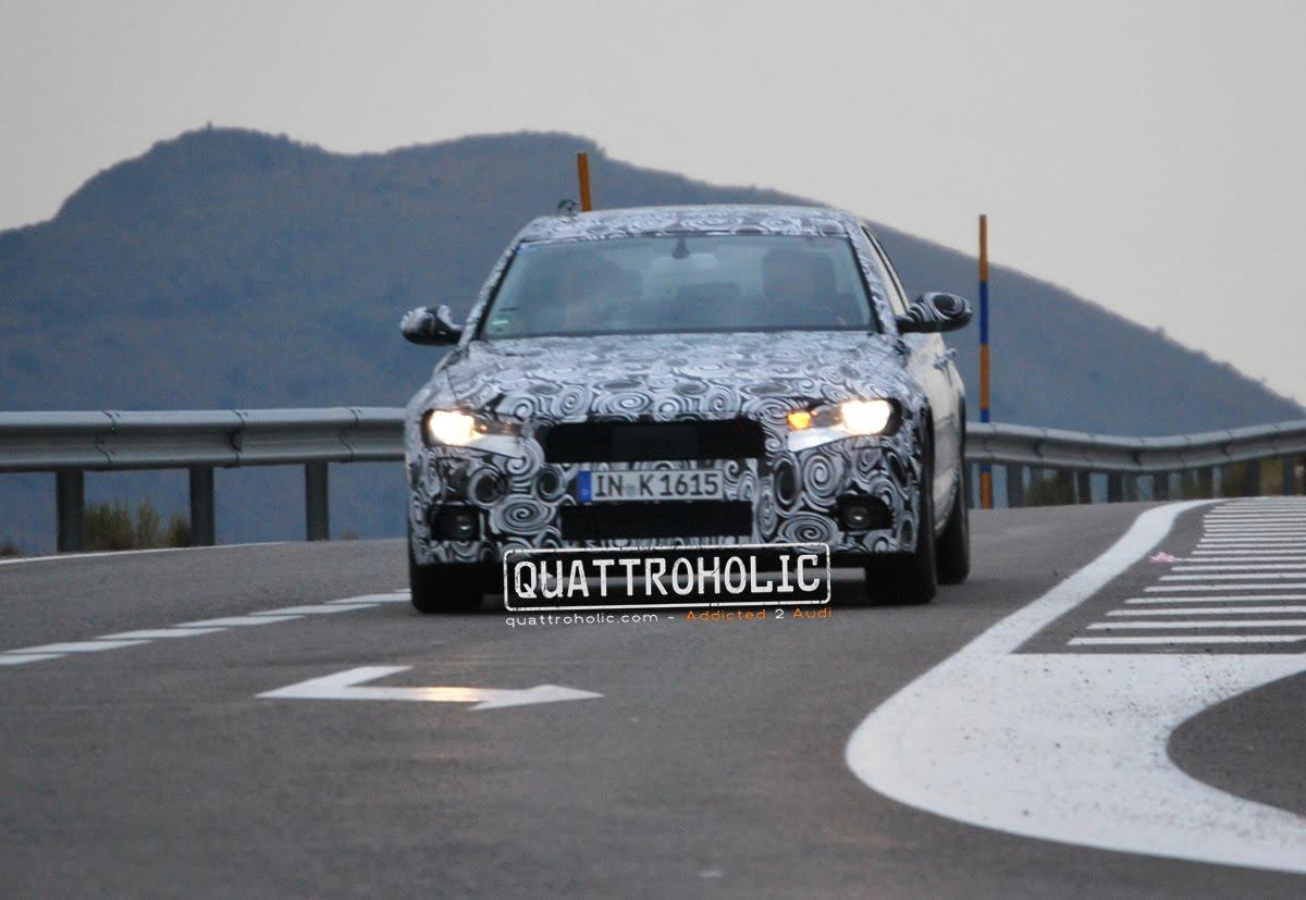 Audi A6 (C7) Spy Photos