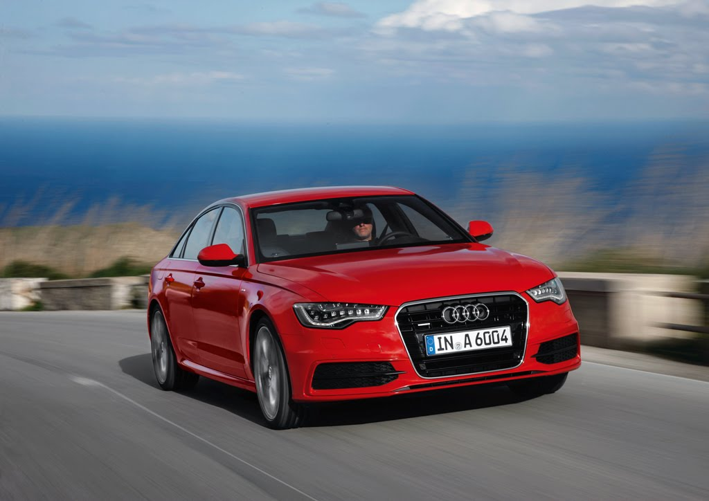 2012 audi a6 shows off in misano red. Black Bedroom Furniture Sets. Home Design Ideas