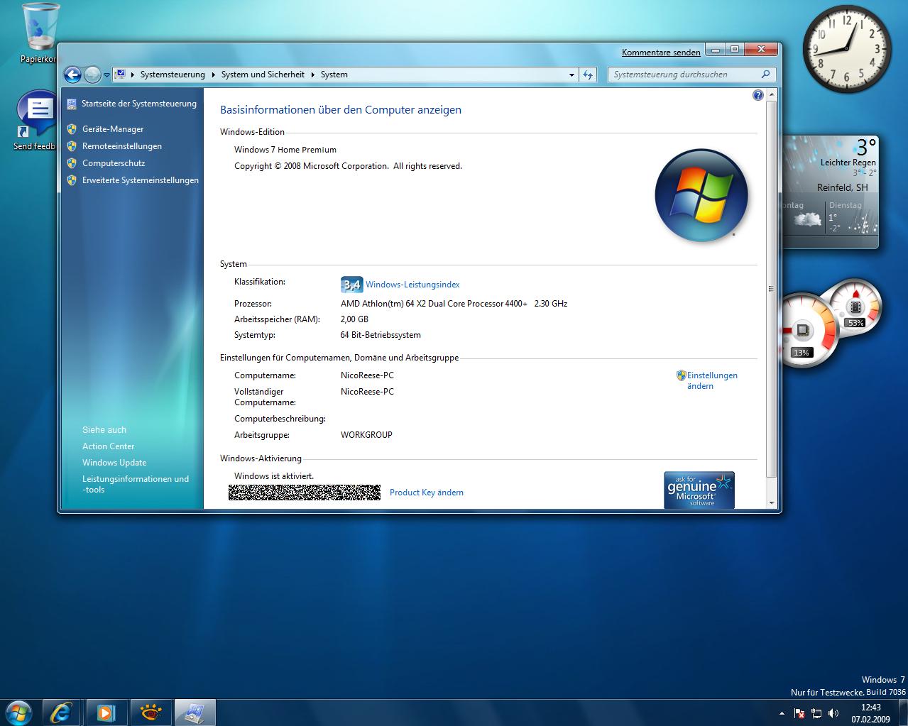 Windows 7 Home Premiumugg Stovle