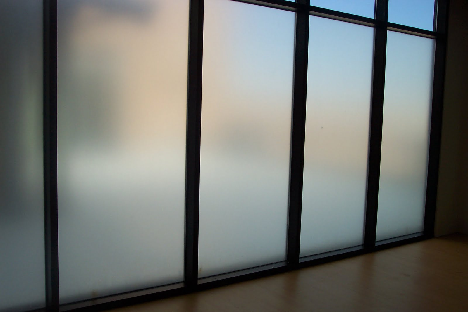 Clear View Window Films Frosted Privacy Window Films