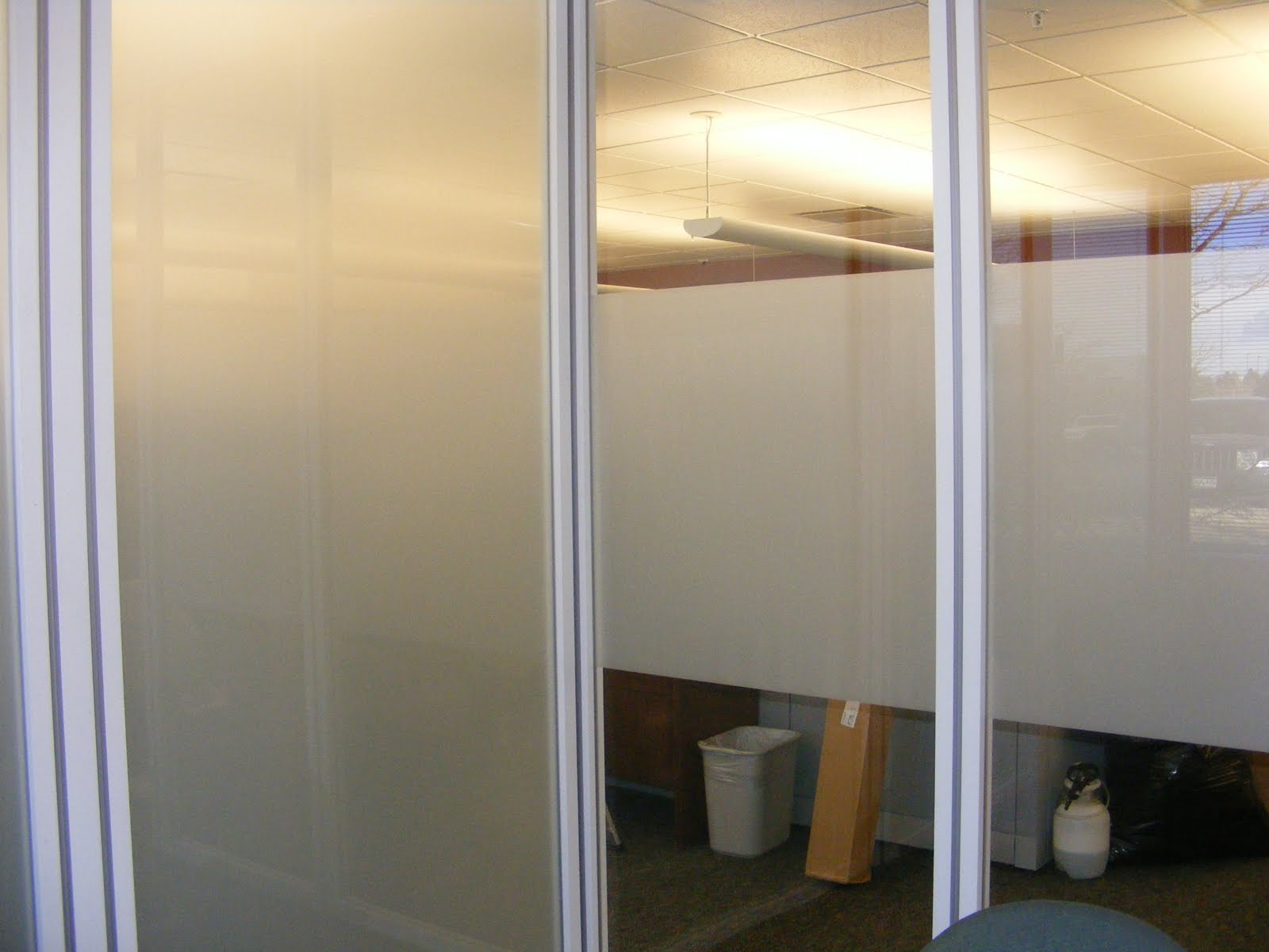 Clear View Window Films Frosted Privacy Window Film