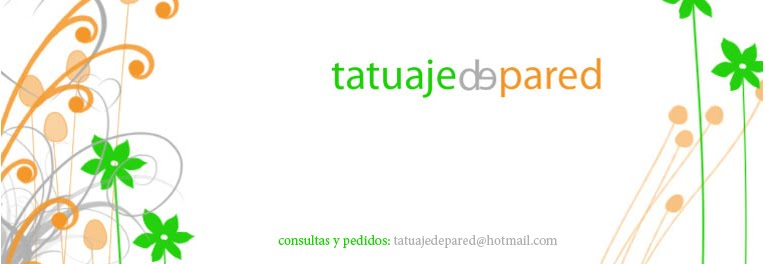 tatuaje de pared