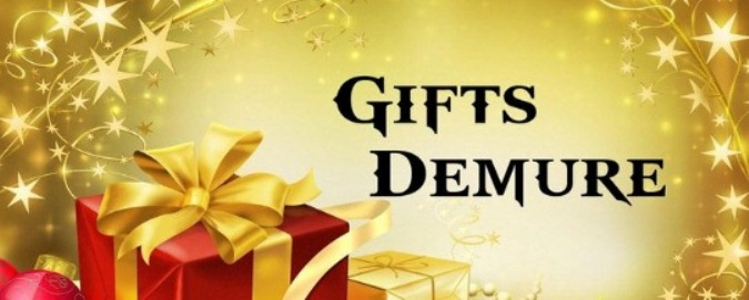 Gifts Demure the Perfect Gift for YOU