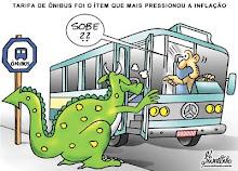PROTESTO EM CURITIBA CONTRA AUMENTO DAS TARIFAS DE ÔNIBUS
