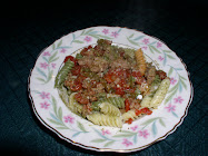 Spicy Sausage and Pepper Rotini