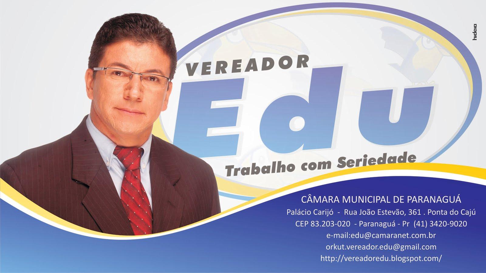Vereador Edu - Paranaguá - Pr.