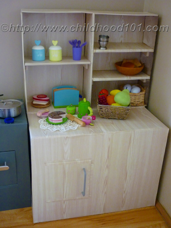 diy kids kitchen buffet tutorial - Diy Kids Kitchen