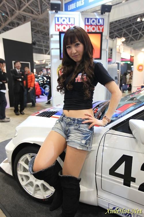 2010 Tokyo Auto Salon Girls Car Show Auto Girl Show