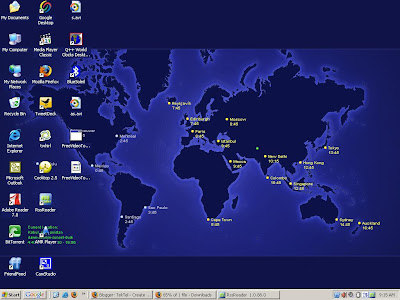 Tektel watch world clock on your desktop this is an amazing software which brings the world clock on your computer desktop as a wallpaper this software is only supported on windows operating gumiabroncs Image collections