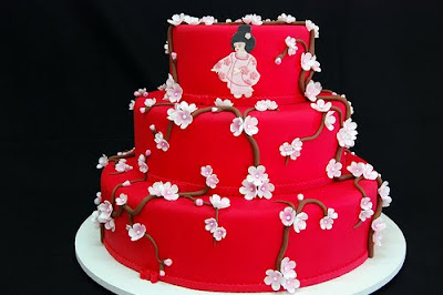 japanese wedding cake unique