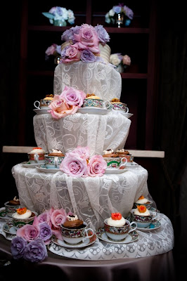 Teacup Wedding Cake