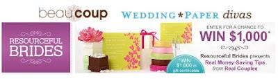 resourcefulbrides.com wedding contest 1000