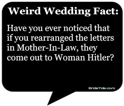 Weird Wedding Fact