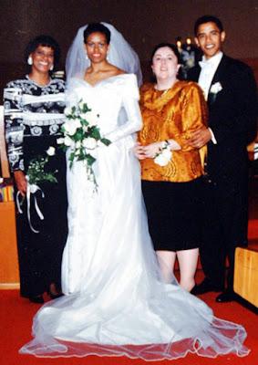 Barack Obama Wedding Photos