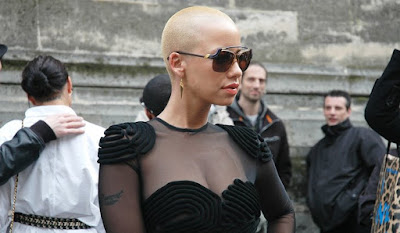 amber rose kanye west bald sinead o'connor empire records