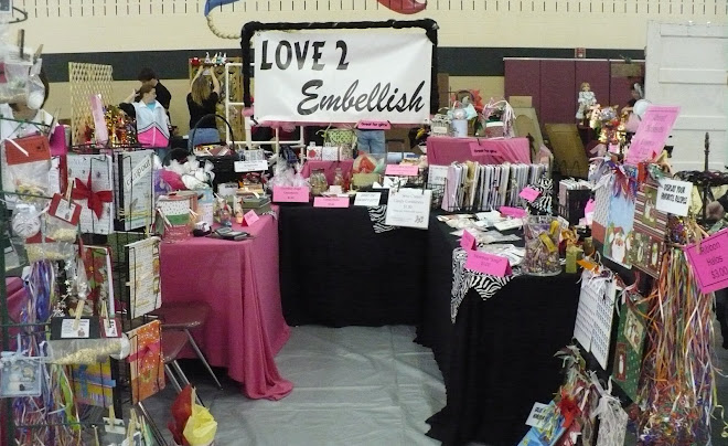 Our Last Craft Show Booth