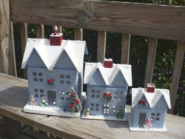 Glittered Houses
