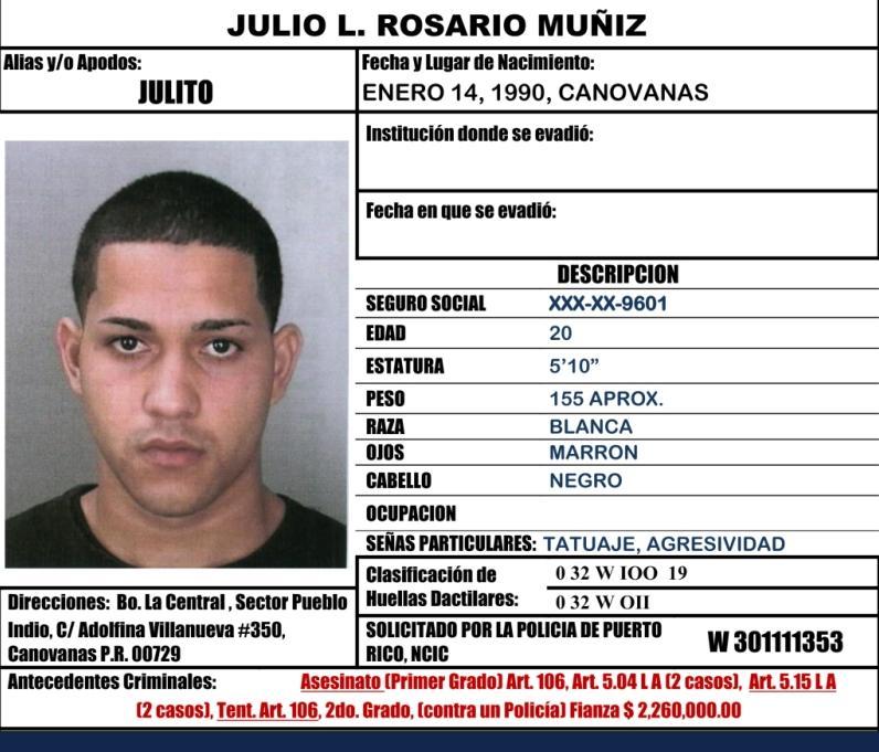 Policia De Puerto Rico. LA POLICIA DE PUERTO RICO