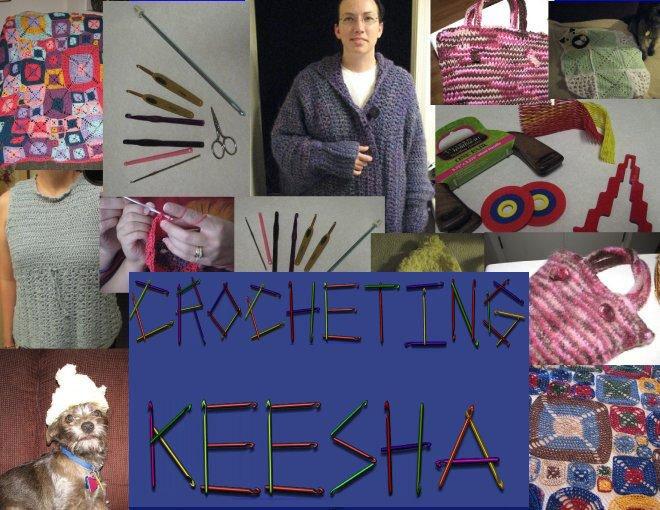 Crocheting Keesha