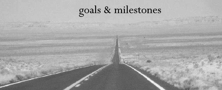 goals & milestones