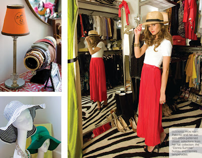 FashionFirstLunchLater: Olivia Palermo and her Tribeca Apartment