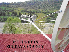 Broadband by satellite in rural area