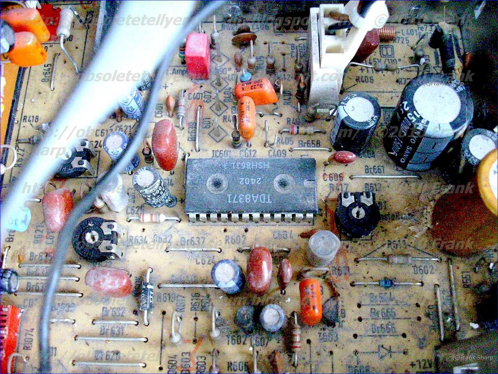 Obsolete Technology Tellye !: SCHAUB LORENZ (ITT) 8838 I CHASSIS ...
