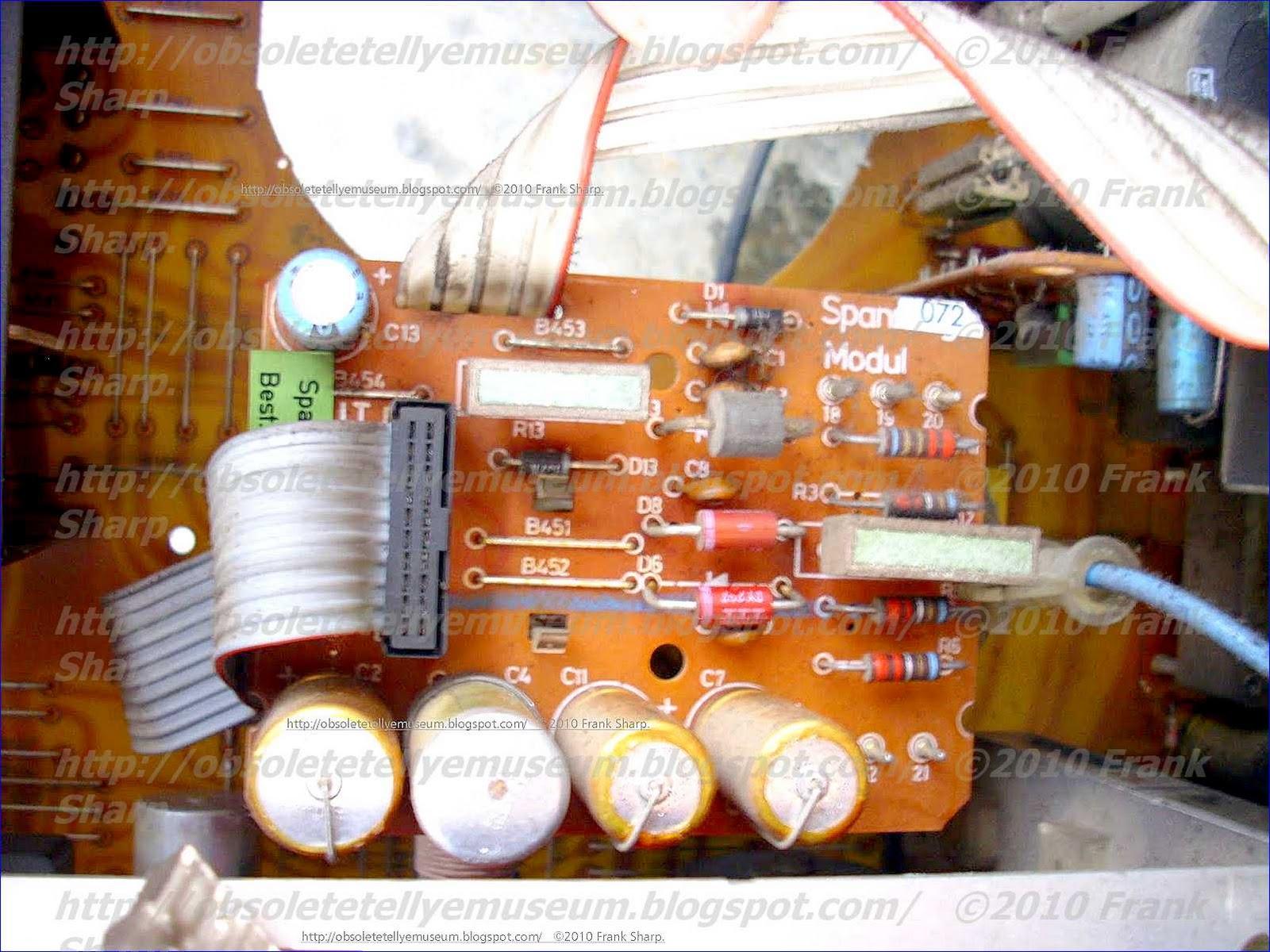 Obsolete Technology Tellye !: SABA ULTRACOLOR T56Q52 tc32 ...