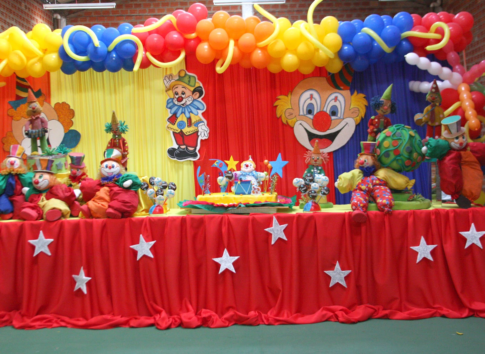 A y p fiestas decoracion de cumplea os infantiles for Ideas decoracion cumpleanos