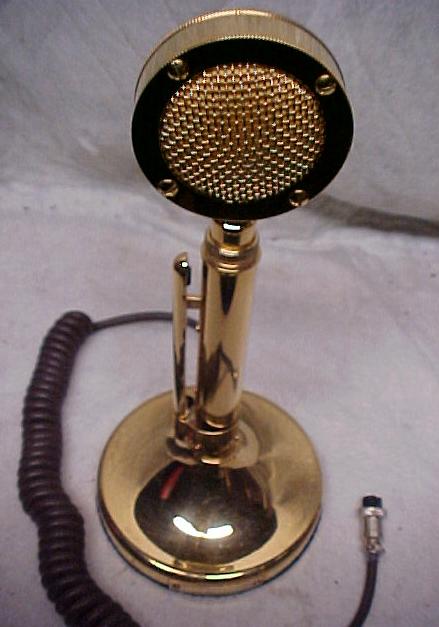 T-Bone Steak Mobile CB Radio Deluxe Golden Eagle Mic ...