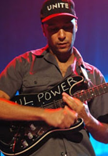 Holding the Guitar - Tom Morello