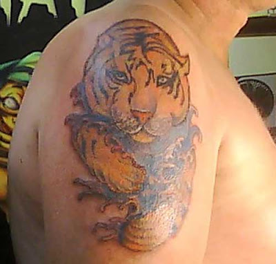 Animal scratch tattoo