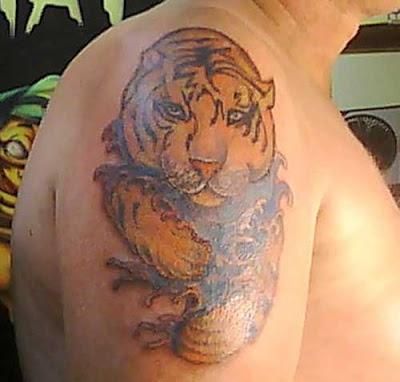 Animal Tiger Tattoo Designs